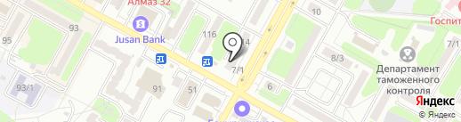 Банкомат, Казкоммерцбанк на карте Усть-Каменогорска