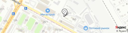 Оптовый магазин на карте Усть-Каменогорска