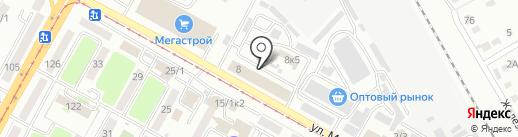 VDO на карте Усть-Каменогорска