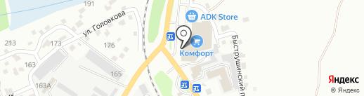Меломан на карте Усть-Каменогорска
