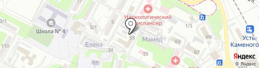 Центр приема и продажи чугунных радиаторов отопления на карте Усть-Каменогорска