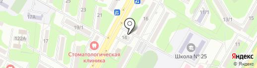 Шыгыс Сервис, ТОО на карте Усть-Каменогорска