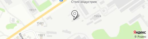 Производственная компания на карте Усть-Каменогорска
