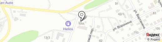 Компания по автострахованию на карте Усть-Каменогорска