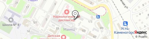 ПромТау Сервис, ТОО на карте Усть-Каменогорска