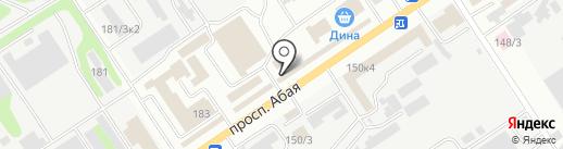 Люпек, ТОО на карте Усть-Каменогорска