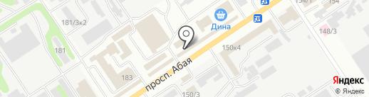 Магазин хозяйственных товаров на карте Усть-Каменогорска