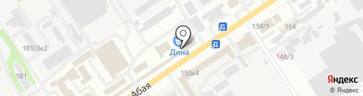 Ормис, ТОО на карте Усть-Каменогорска
