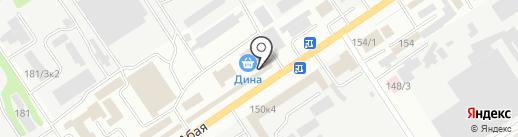 Магазин запчастей для сельхозтехники на карте Усть-Каменогорска