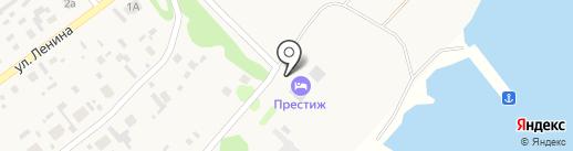 Престиж на карте Борового
