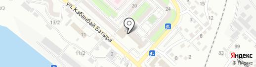 АЗИНА на карте Усть-Каменогорска