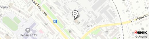 Пожарная часть №11 на карте Усть-Каменогорска