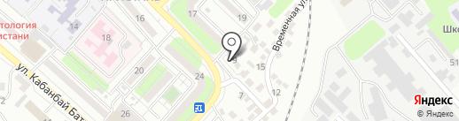 Компания по аренде помещений на карте Усть-Каменогорска