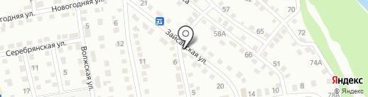Кабзай на карте Усть-Каменогорска