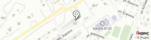 Участковый пункт полиции №21 на карте Усть-Каменогорска