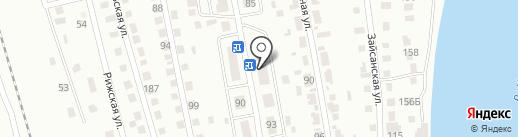 Почтовое отделение №8 на карте Усть-Каменогорска