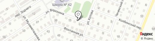 ASTER AUTO на карте Усть-Каменогорска