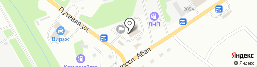 Центр диагностики транспортных средств, ТОО на карте Усть-Каменогорска