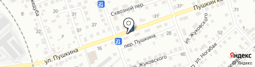 Кристина на карте Усть-Каменогорска