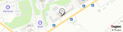 Мой сам на карте Усть-Каменогорска