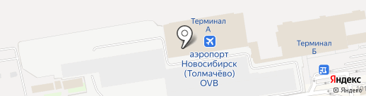 Шоколадница на карте Оби