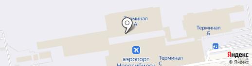 Толмачёво на карте Оби