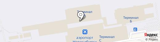 С7 Билет на карте Оби