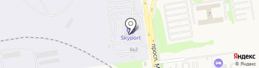 SKYPORT на карте Оби