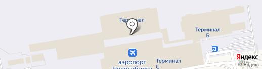 Банкомат, Банк ВТБ 24, ПАО на карте Оби
