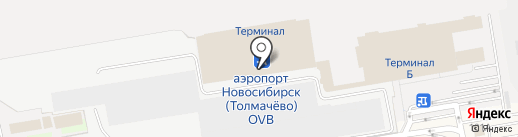 Банкомат, Росбанк, ПАО на карте Оби