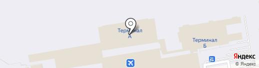 Уральские авиалинии на карте Оби