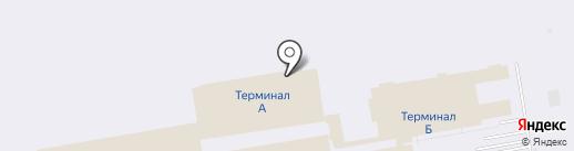 Оренбургский пуховый платок на карте Оби