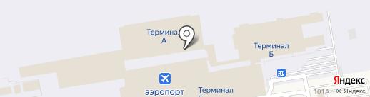 Авис на карте Оби