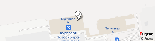 NordStar Airlines на карте Оби