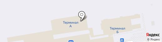 ИрАэро на карте Оби