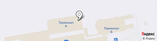 Аэротранс на карте Оби