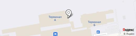 Такси Толмачево на карте Оби