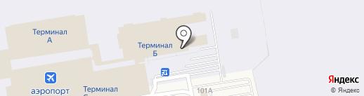 Turkish Airlines на карте Оби