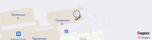 Почтовое отделение №104 на карте Оби