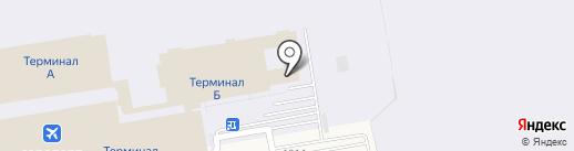 Новосибирская таможня на карте Оби