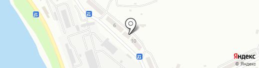Парикмахерская на карте Усть-Каменогорска