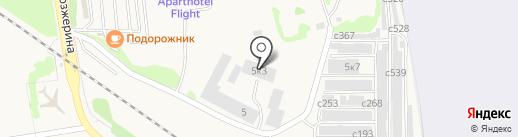 Реф-авто на карте Оби