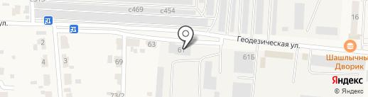 СТП ГАРАНТ на карте Оби