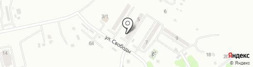 Участковый пункт полиции №6 на карте Усть-Каменогорска