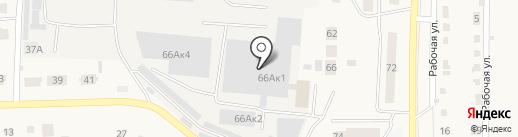 Шатура на карте Оби