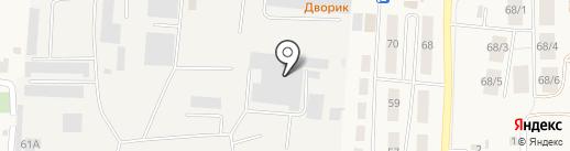 Гофропак на карте Оби