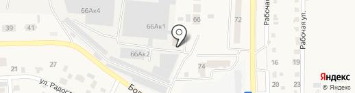 Шеметов А.В. на карте Оби