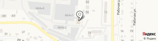 Аякс-Агро на карте Оби
