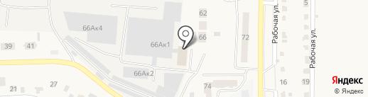 Коллегия адвокатов г. Оби на карте Оби