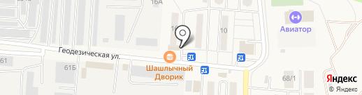 Детская школа искусств г. Оби на карте Оби